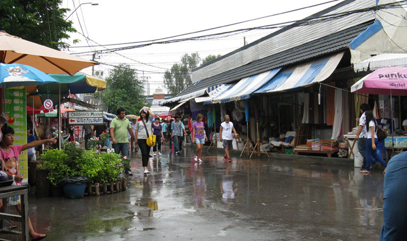 Chatuchak Market - on a rainy day doesn't spoil your fun with so much to see and do..