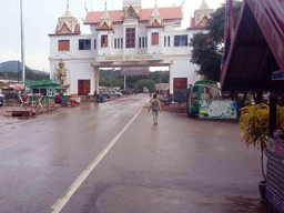 new border crossing at Ban Khao Din