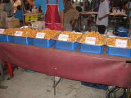 Aranyaprathet night market