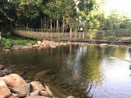khlong paibun waterfall in khao kitchakut national park
