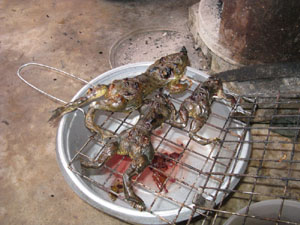 Ghai Tawt barbeque frog